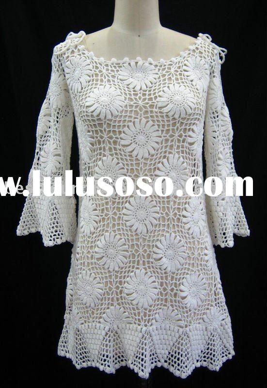 Free Crochet Dress Patterns For Women Crochet Long Dress Pattern