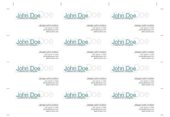 How to impose business cards for digital printing with indesign how to impose business cards for digital printing with indesign colourmoves