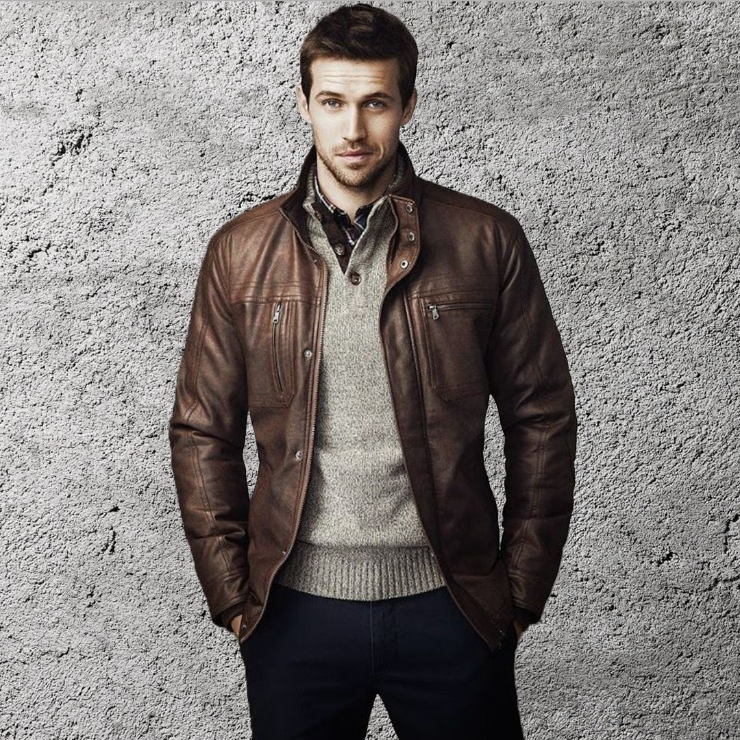 Leather Jackets Huge Range Of Quality Leather Jackets Leather Jacket Jackets Classic Leather Jacket [ 1080 x 1080 Pixel ]