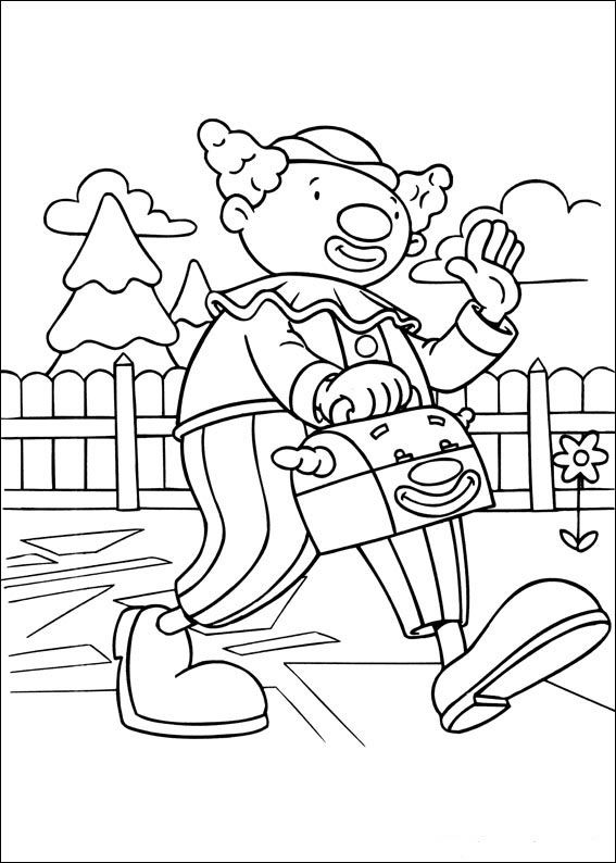 Dibujos para Colorear Jo Jo\'s Circus 33 | Dibujos para colorear para ...