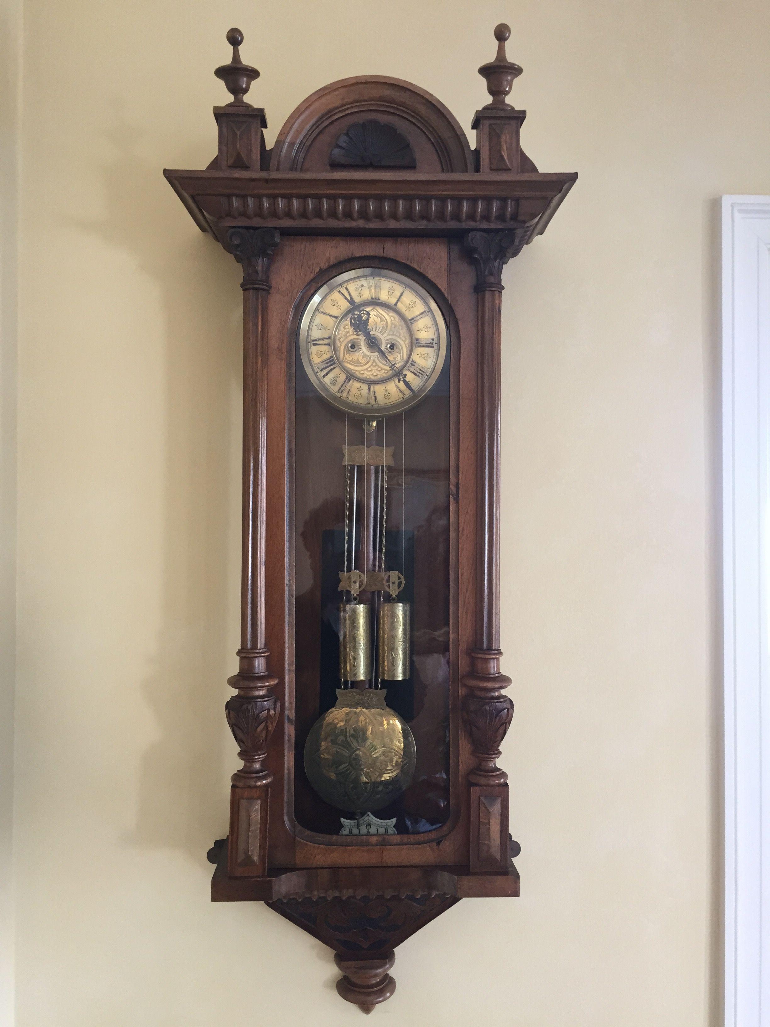 1800 S Gustav Becker Vienna Regulator Antikvarnye Chasy Chasy Antikvariat