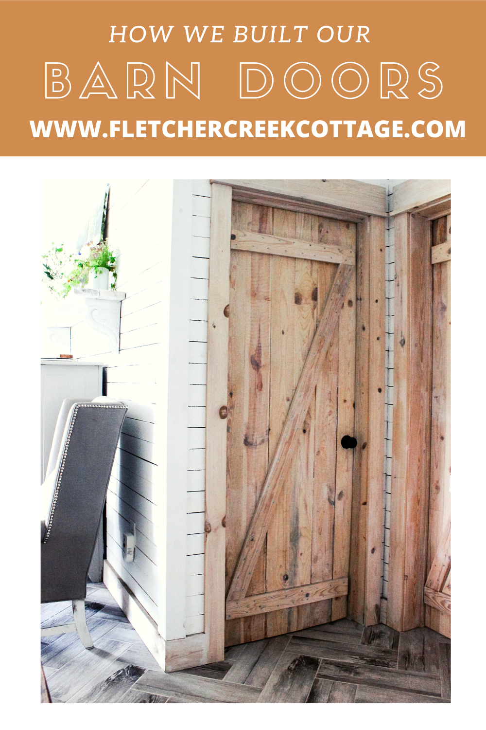 GO TO WWW.FLETCHERCREEKCOTTAGE for a DIY