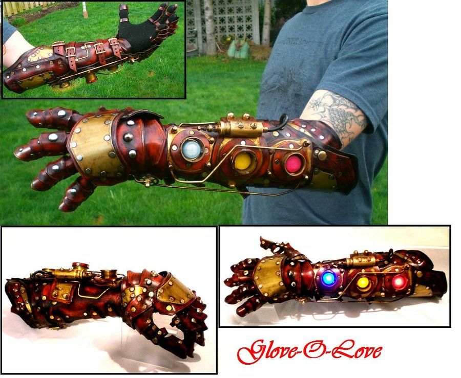 Steampunk Glove-o-love