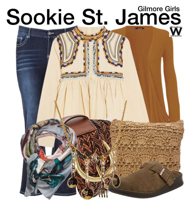"""""""Gilmore Girls"""" by wearwhatyouwatch ❤ liked on Polyvore featuring WearAll, maurices, Isabel Marant, FOSSIL, Magid, Klements, television and wearwhatyouwatch"""