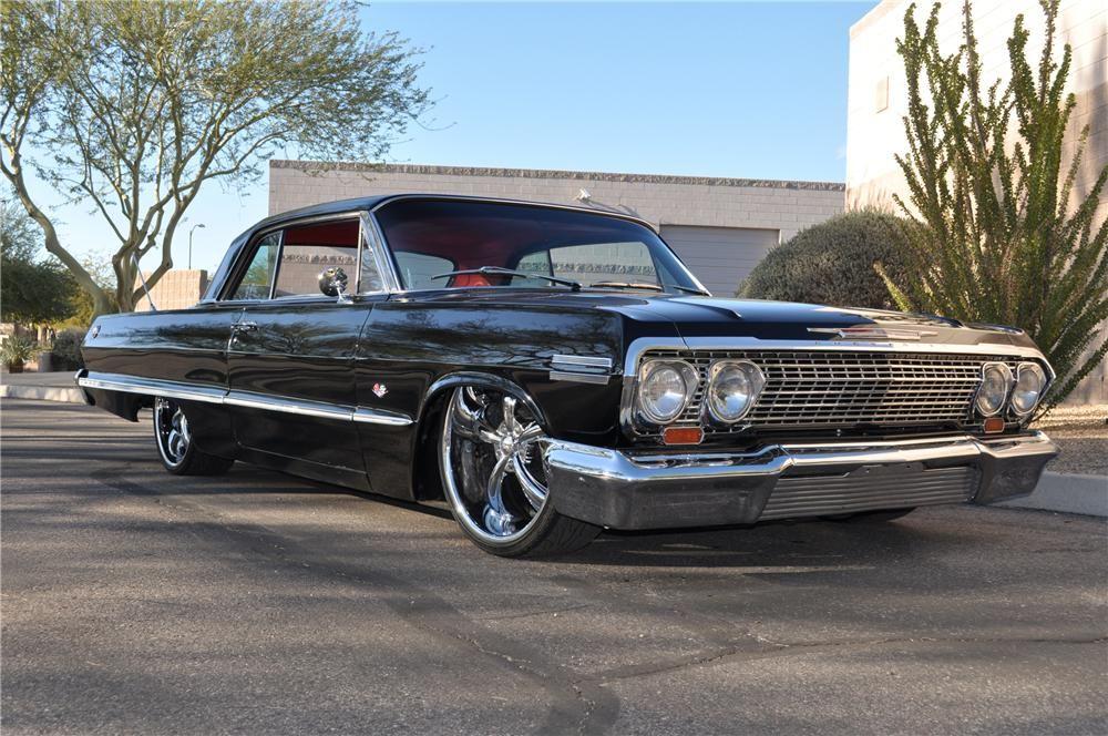 Barrett Jackson Auction Company Chevrolet Impala Impala Chevy
