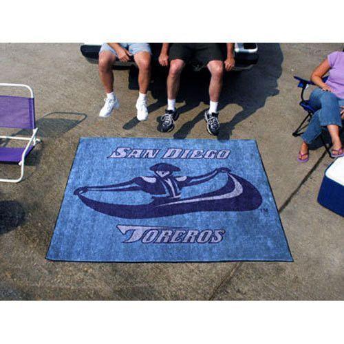 San Diego Toreros NCAA Tailgater Floor Mat (5'x6')