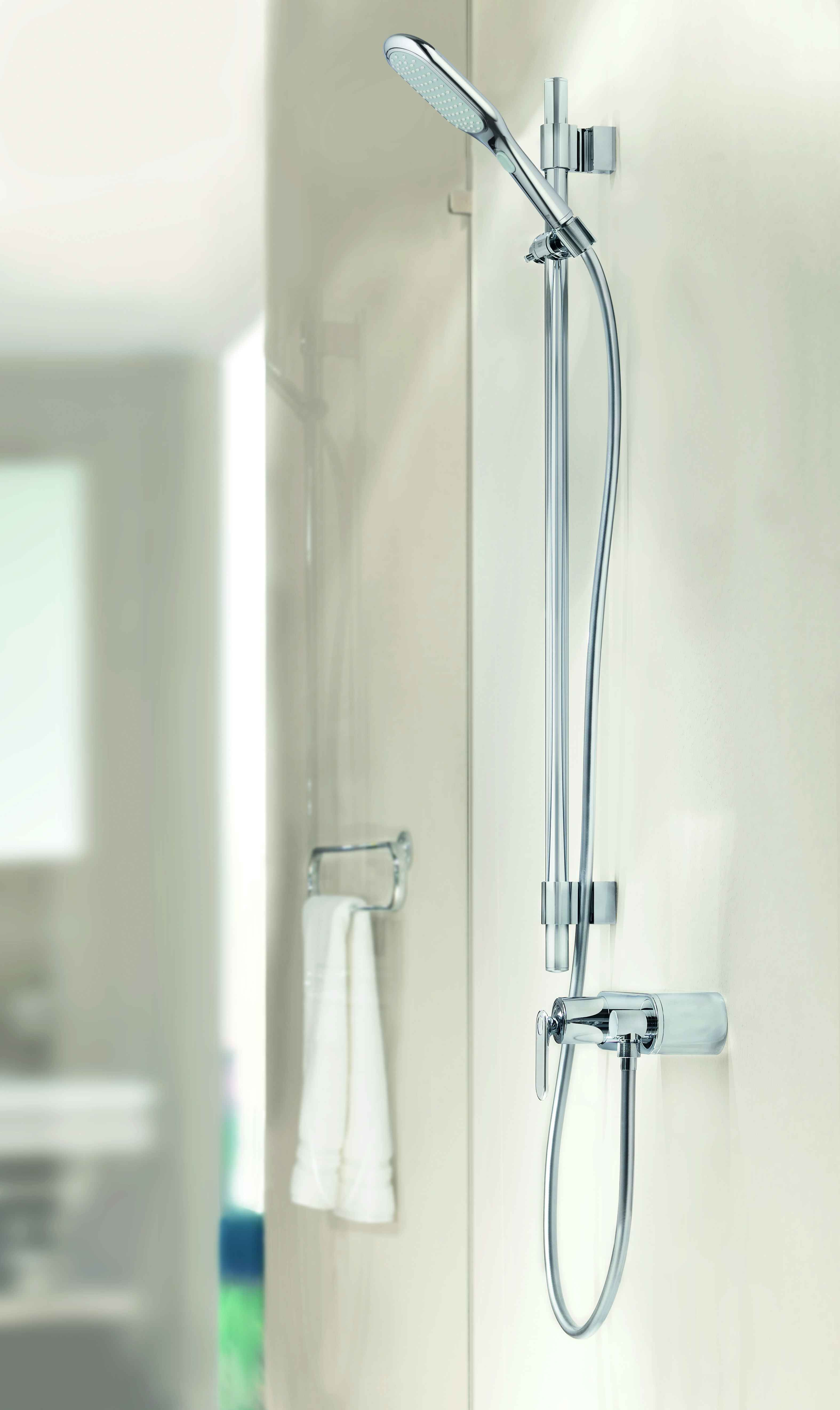 Grohe Veris Thermostatic Shower Bathroom Bathroom Inspiration