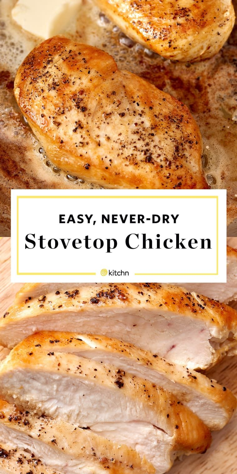 How to Cook Tender and Juicy Chicken Breasts On the Stovetop