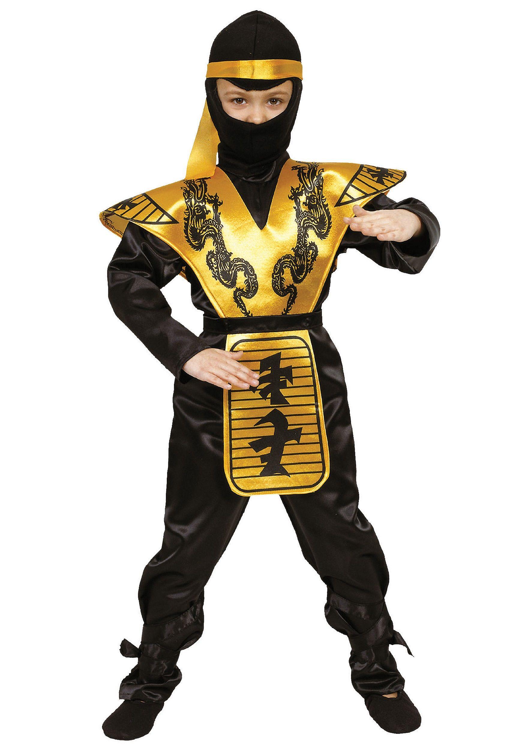 Looks - Costumes Halloween boys ninja pictures video