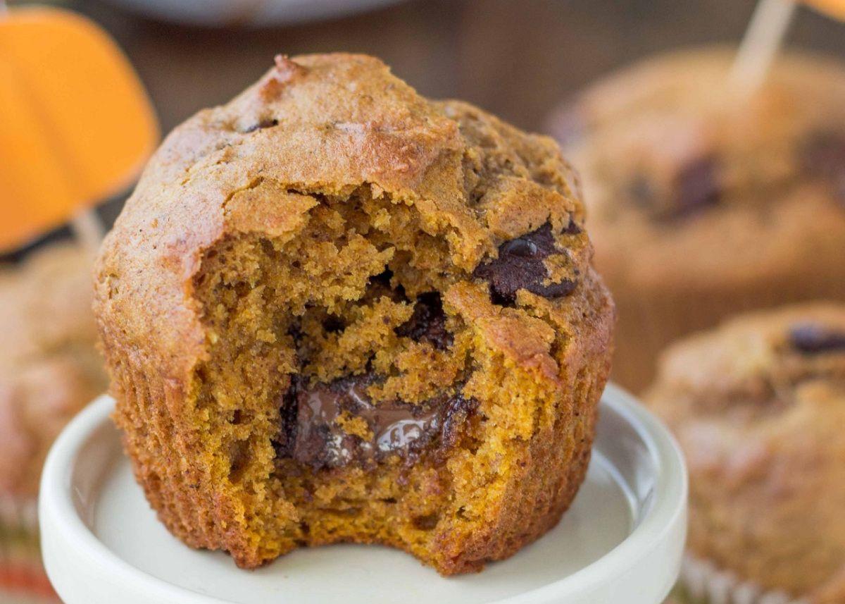 Muffins à la poudre d'amande, cœur fondant au chocolat ...