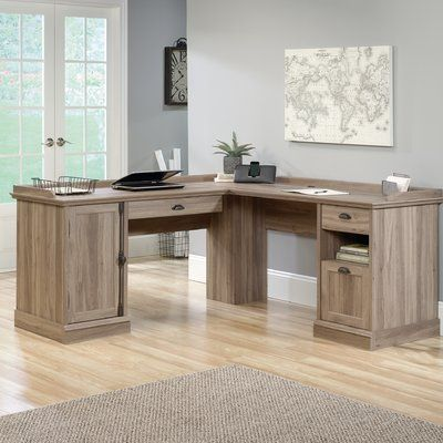 Hillsdale L-Shaped Computer Desk in 2018 Ideas for the House