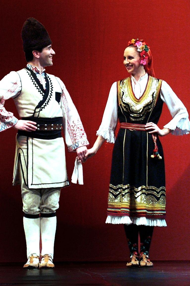 Traditional Bulgarian Costume