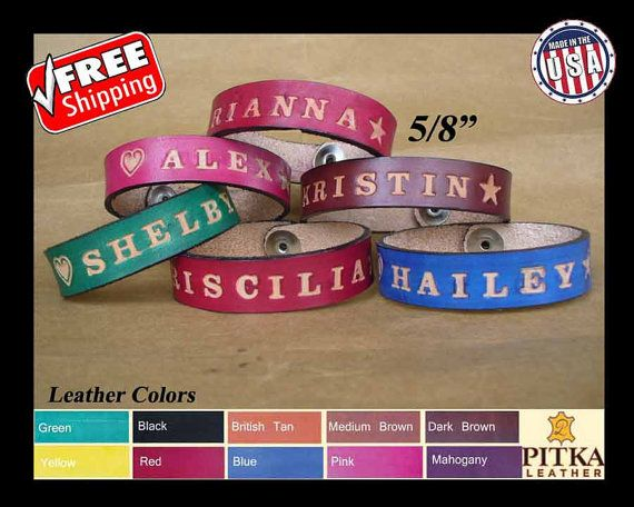 Custom made Wristbands - Personalized Wristbands - Cool Wristbands - Create your…