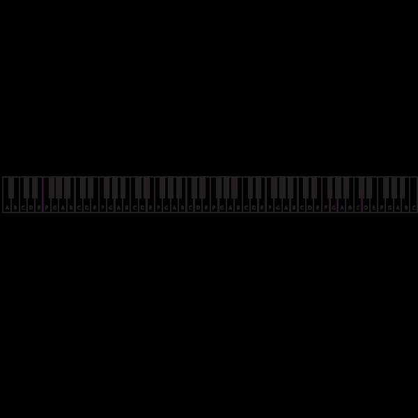 Piano Keyboard 1606306891 Piano Keyboard Free Clip Art