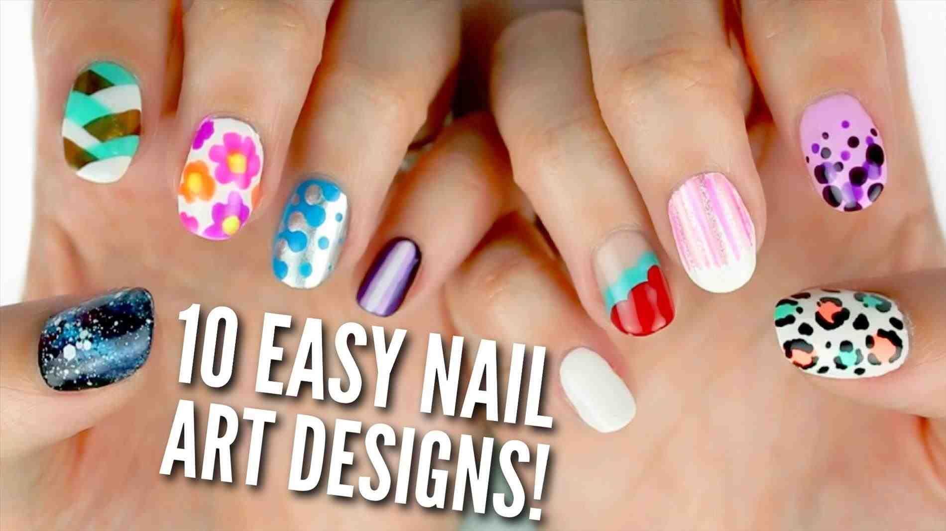 Easy Short S Cute Easy Christmas Nail Designs For Beginners Art Cute