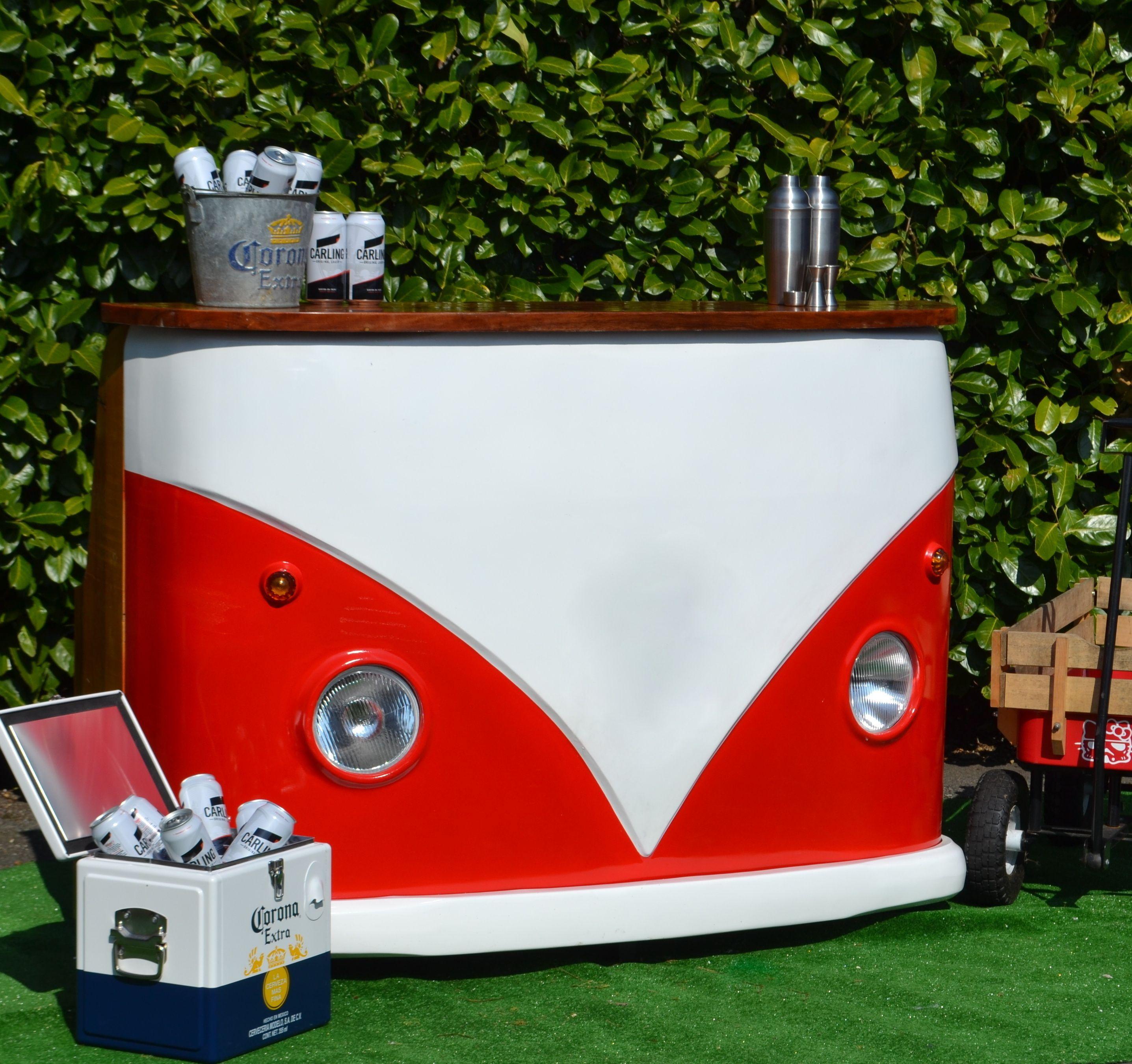 Vw Split Screen Camper Van Drinks Bar Man Cave Camper Van Outdoor Split Screen Ebay In 2020 Vw Campervan Outdoor Bar Bar Drinks