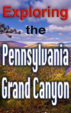 Exploring the Pennsylvania Grand Canyon's Trails, Vistas, and Waterfalls