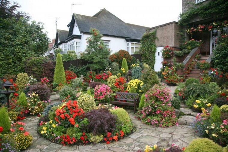 Jardines rusticos ideas para elementos decorativos Jardines