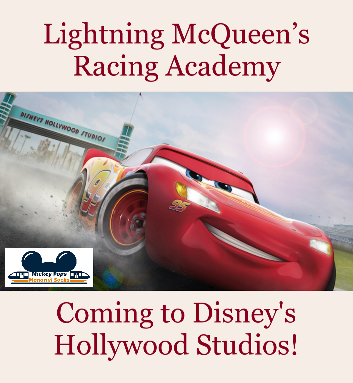 Lightning Mcqueen S Racing Academy Is Coming To Disney S Hollywood Studios Hollywood Studios Disney Hollywood Studios Disney Trip Planning