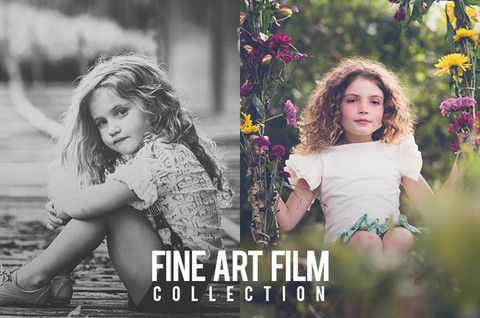 A BEST SELLER!! Fine Art Film Collection for Lightroom 4 and