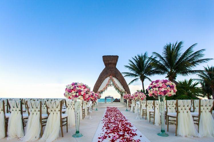 Luxurious Destination Wedding At Dreams Riviera Cancun