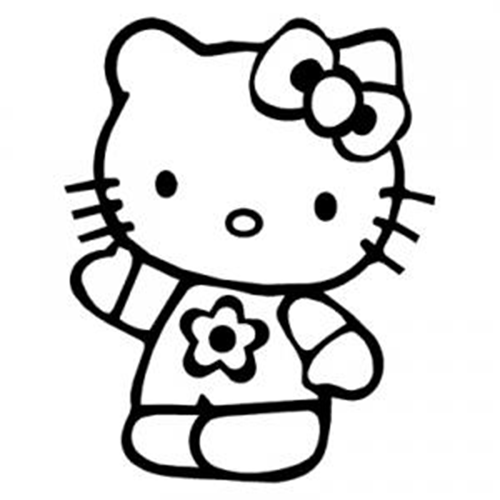 Hello Hello Kitty Colouring Pages Hello Kitty Coloring Hello Kitty Printables