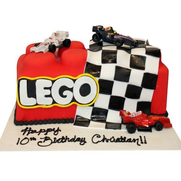 Lego Race Car Birthday Cake Cars Birthday Cake Lego Birthday Cake Cake Design Inspiration