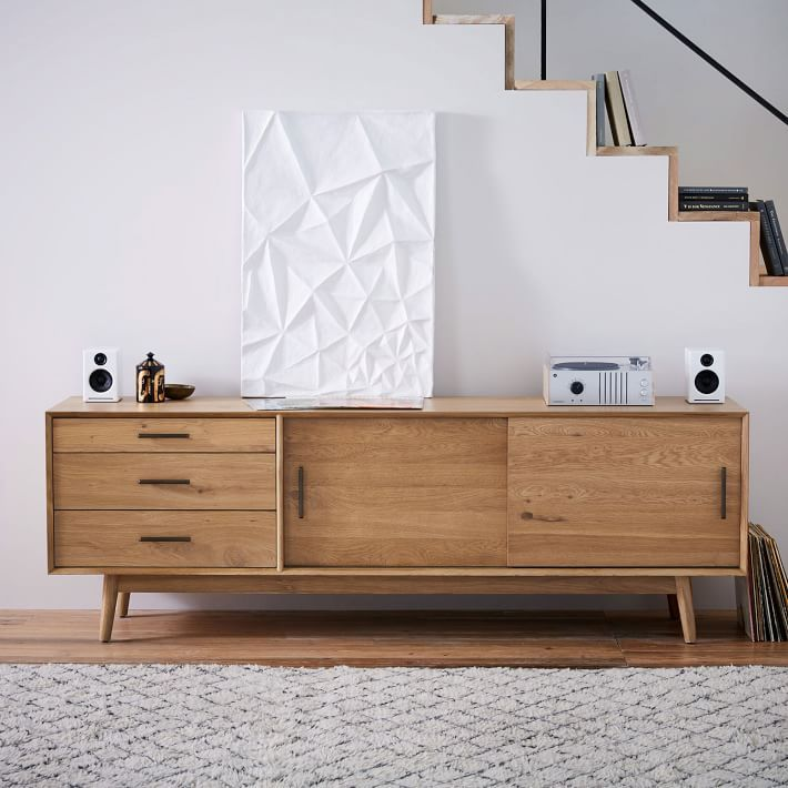 Mid-Century Console | For the Home | Pinterest | Consoles, Mid ...