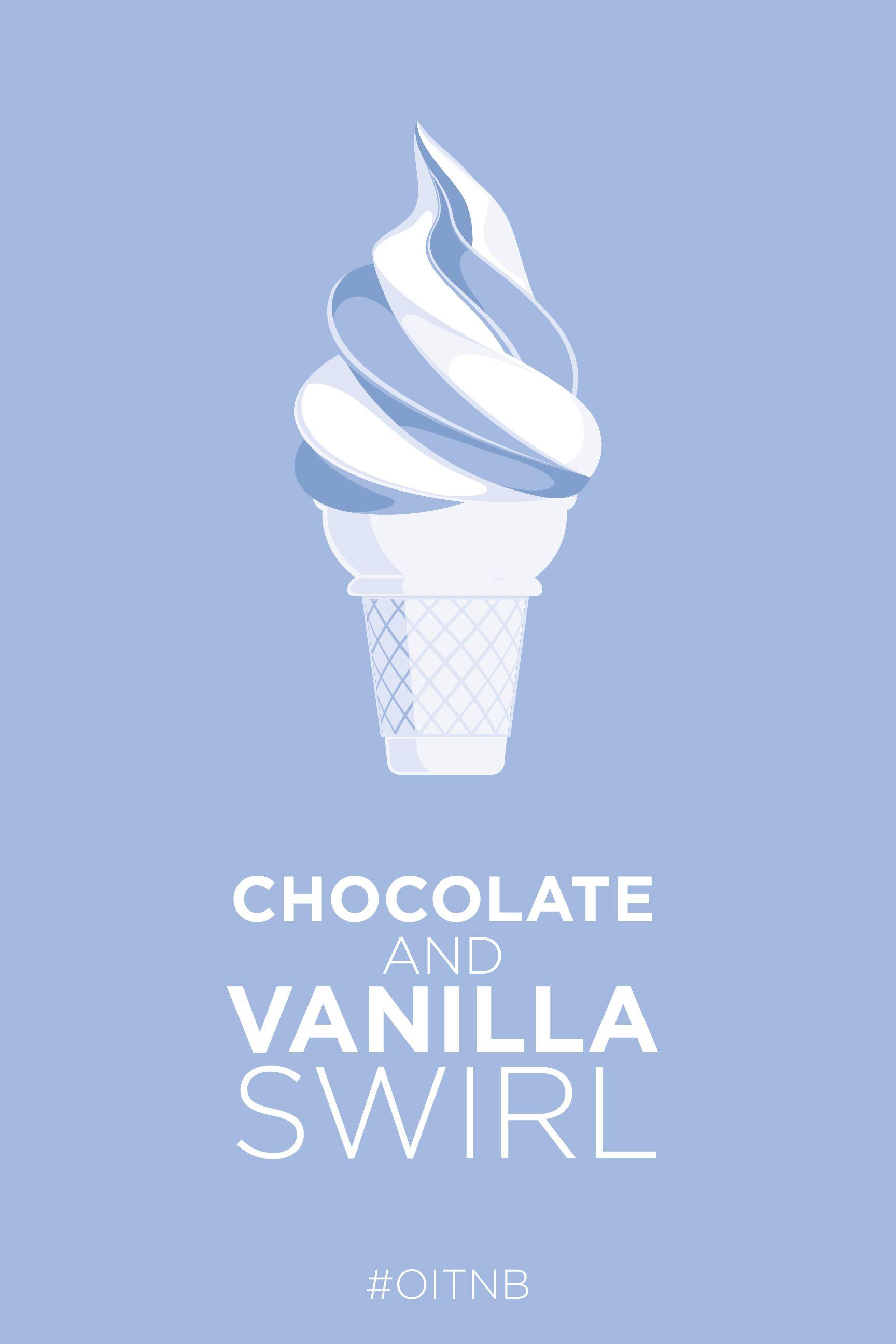 Chocolate and vanilla swirl.   Orange is the New Black   Pinterest ...