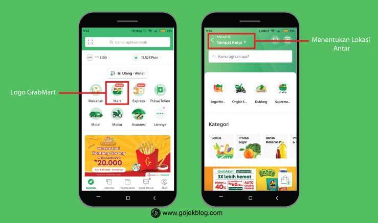 Cara Mudah Pesan Grabmart Terbaru 2021 Pesan Makanan Beku Aplikasi