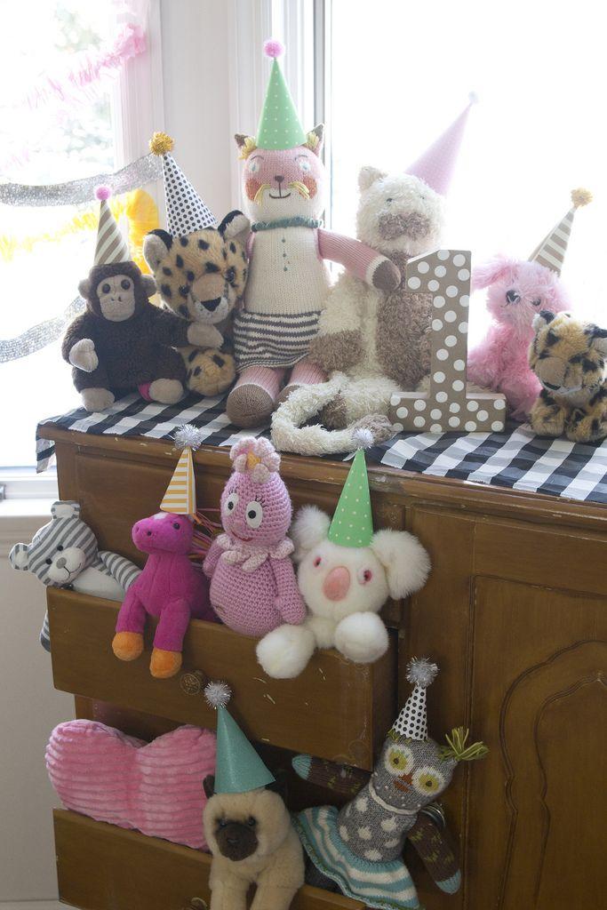 A Stuffed Animal 1st Birthday Party