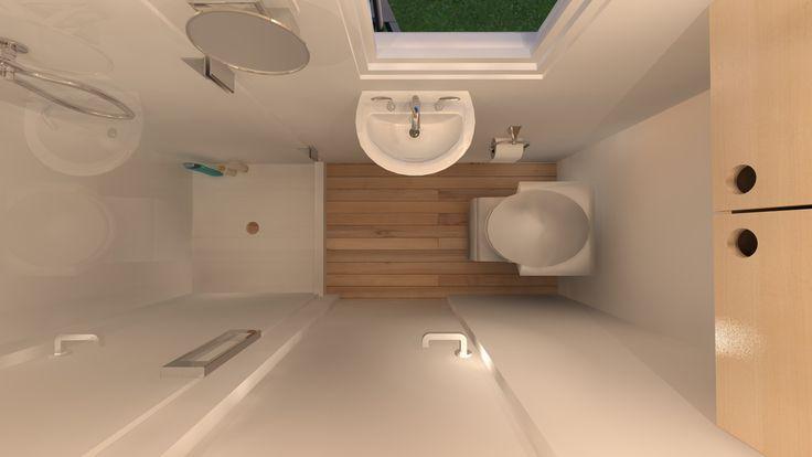 Nur ein bisschen Platz? Diese kleinen Badezimmer-Designs werden Sie begeistern #tinyhousebathroom
