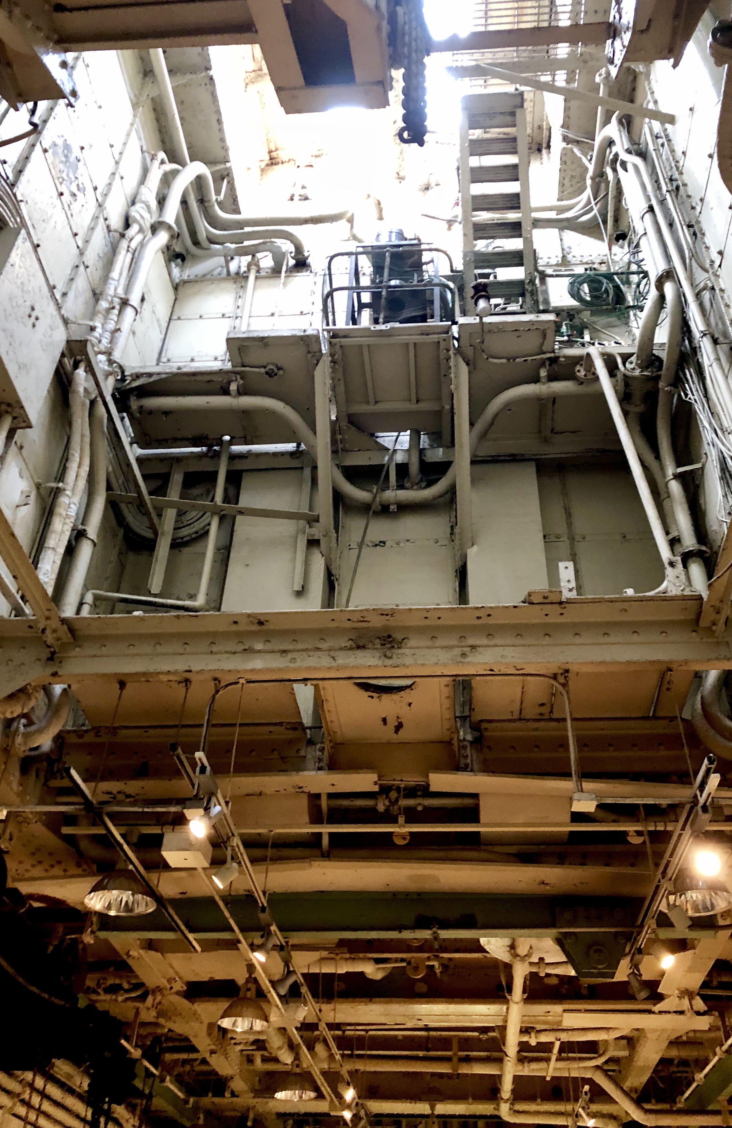 Battleship Engine Room: Engine Room Of Ship NYK Hikawamru (With Images