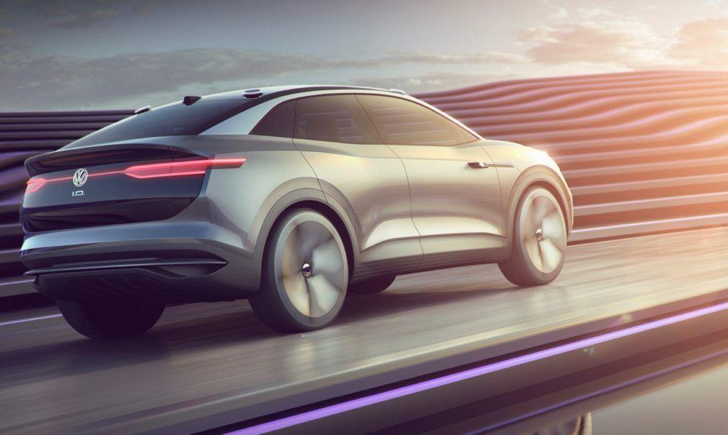 Volkswagen Previews I D Crozz Its 2020 Electric Suv Volkswagen Electric Crossover Car Exterior