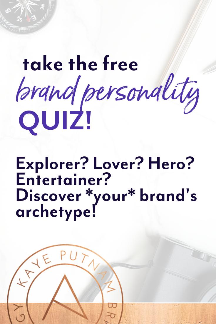 Brand Quiz Brand Archetypes Brand Book Brand Strategist