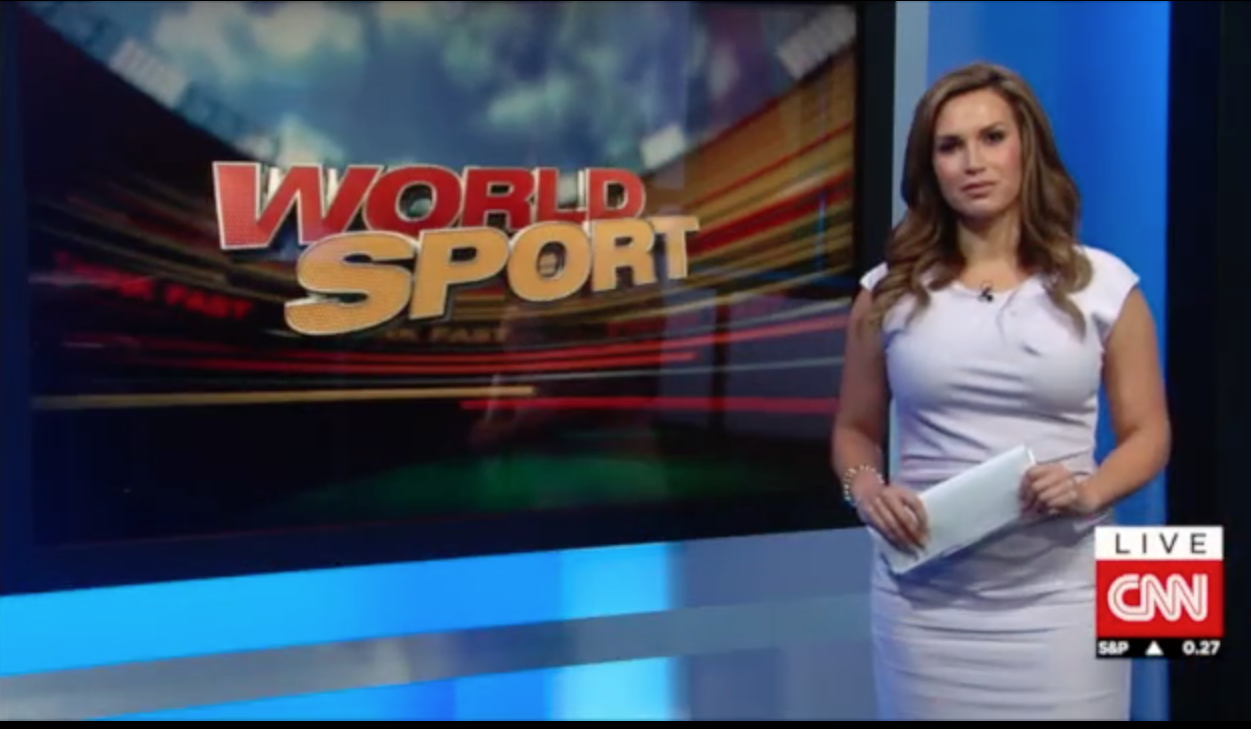 Cnn World News Twitter: Erin Hawksworth World Sport On CNN International A Global