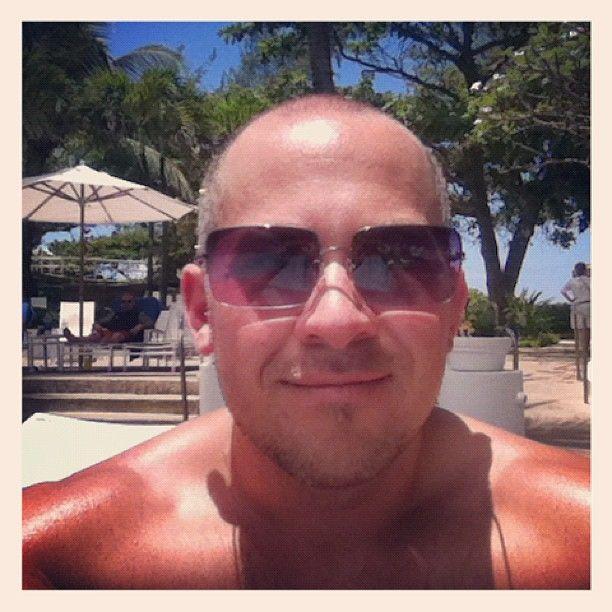 Me in Puerto Rico! Lovin' the sun!