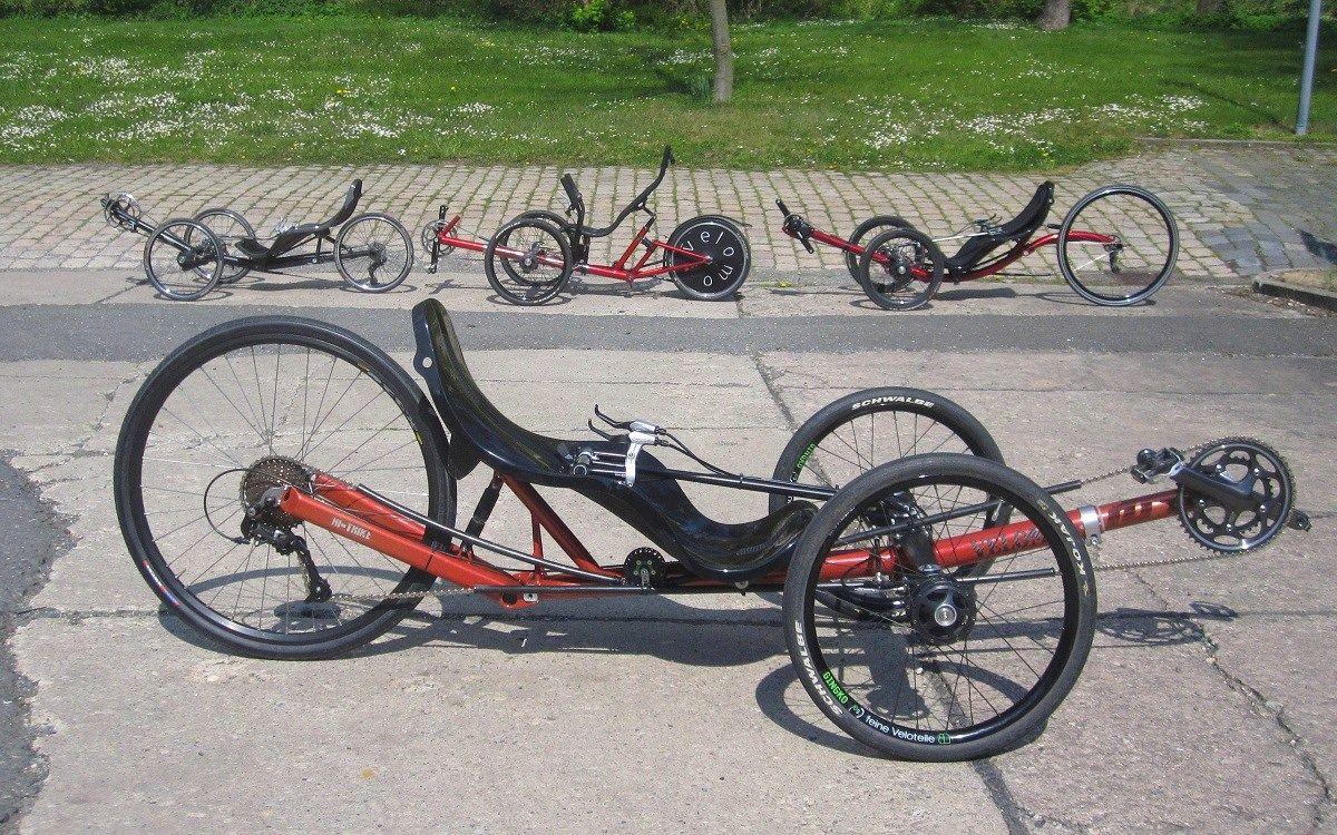 Hi Trike Gti Mit Tiller Zweiarmschwinge Und Sportsitz Trike