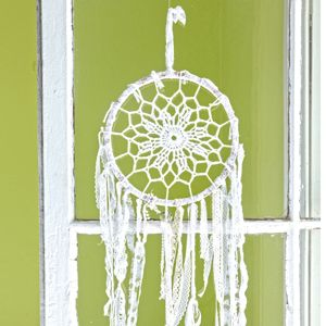 crochet dreamcatcher pattern on pinterest