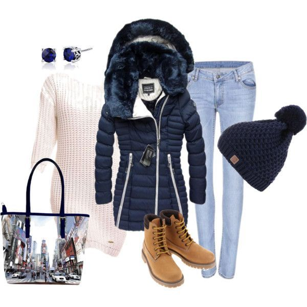 Modrá zimná bunda s kožušinou a pletené šaty - Modny-svet.sk ... 85708a4ac5d