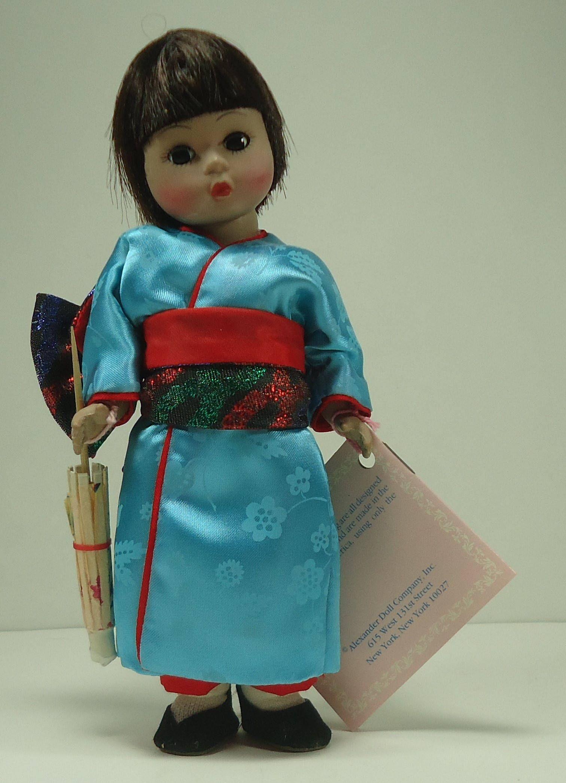 Madame Alexander 6-8 Inches Madame Alexander Japan 570 8 Inch