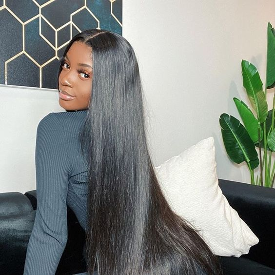 long straight hairstyle for black women -   17 hairstyles Straight life ideas