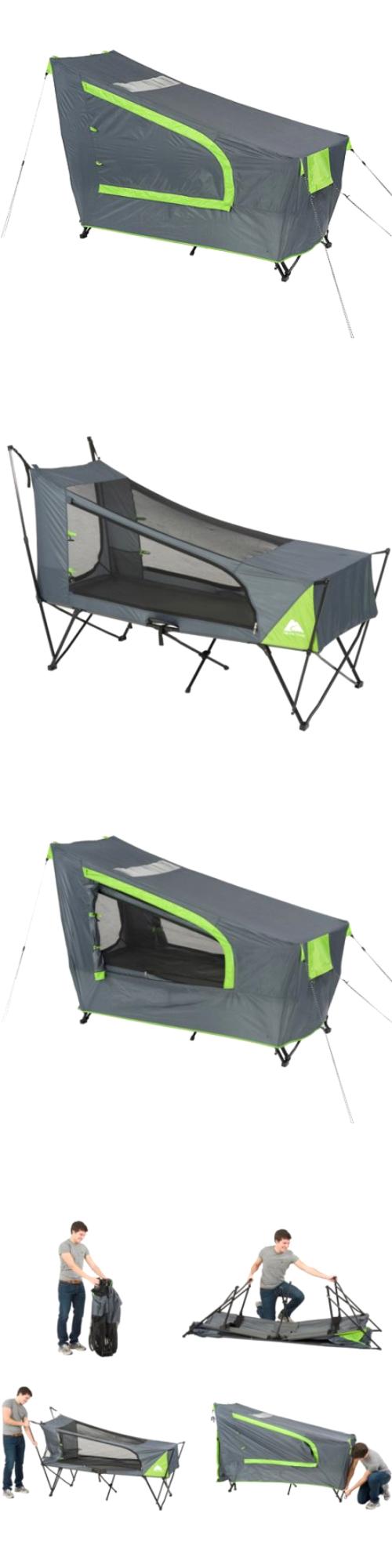 Tents 179010 Ozark Trail Instant Tent Cot With Rainfly Sleeps 1 -u003e BUY  sc 1 st  Pinterest & Tents 179010: Ozark Trail Instant Tent Cot With Rainfly Sleeps 1 ...
