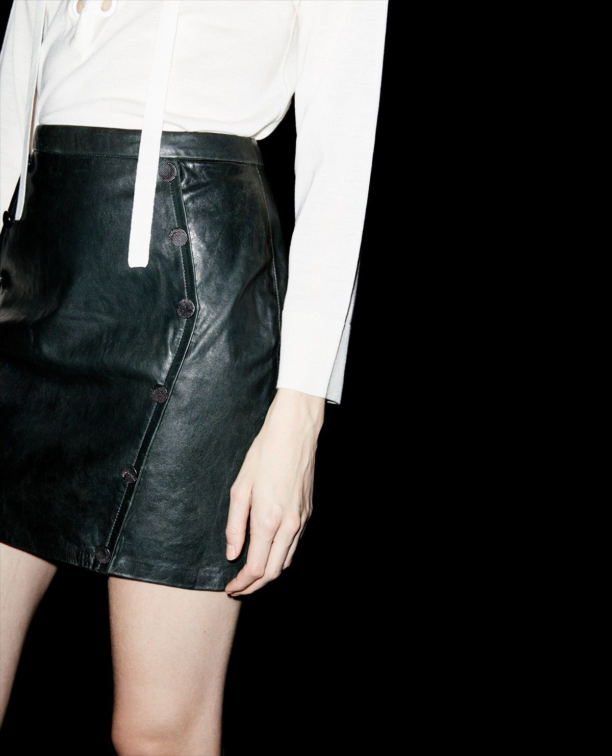Jupe cuir The Kooples   Skirts, Clothes for women, Clothes