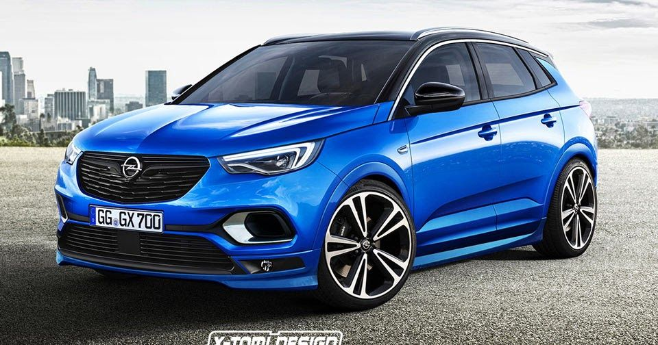 Think Opel Should Build A Grandland X Opc Carscoops Vauxhall Opel Suv