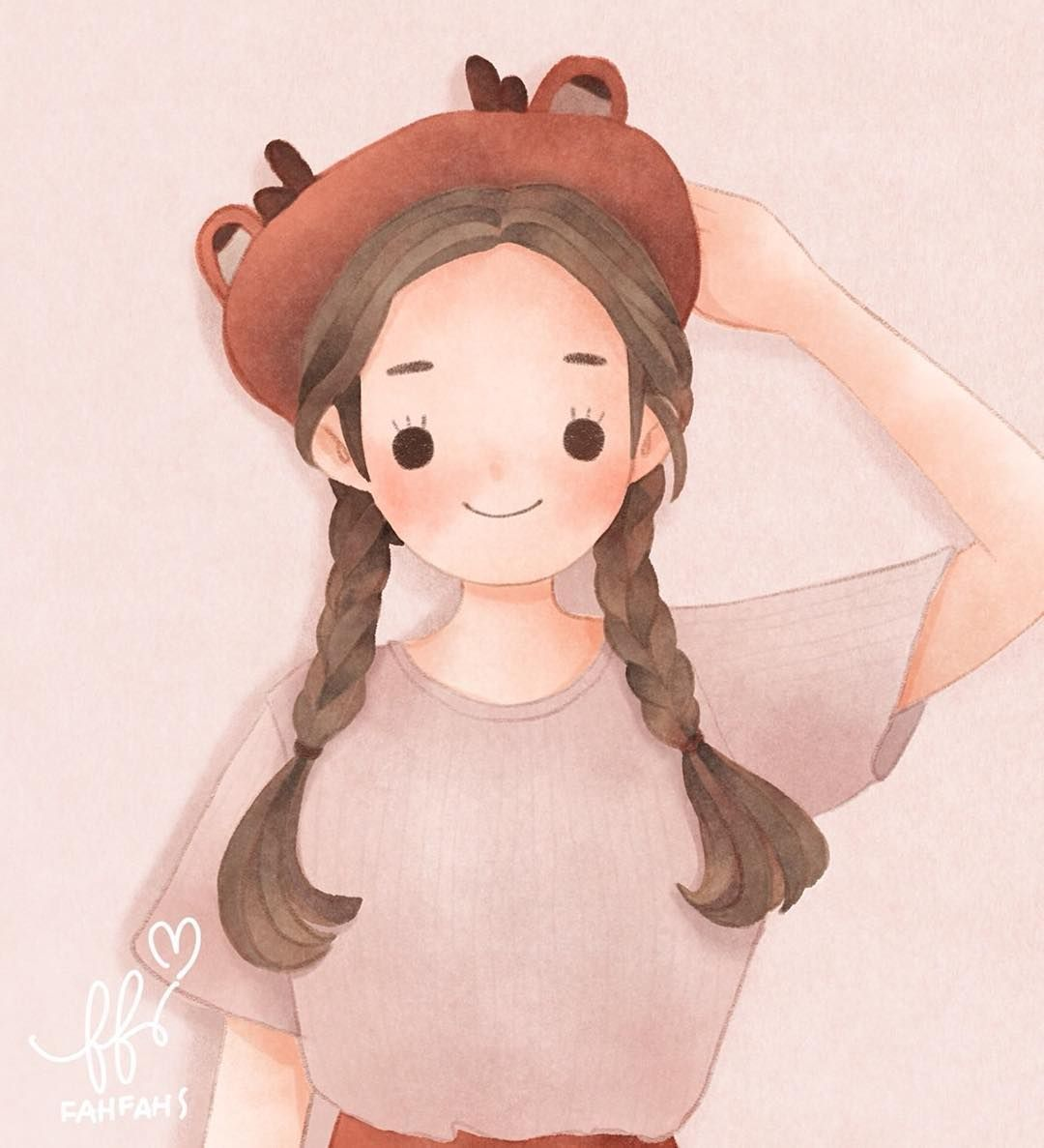 """Fahfahs NK / illustrator on Instagram: """"น้อง 💋 @xiangpornsroung _______________________________ * รายละเอียดรับวาดรอนิดนึงน้าาา เดี๋ยวจะมาแจ้งอีกทีจ้า กำลังทำรายละเอียดอยู่จ้า"""""""
