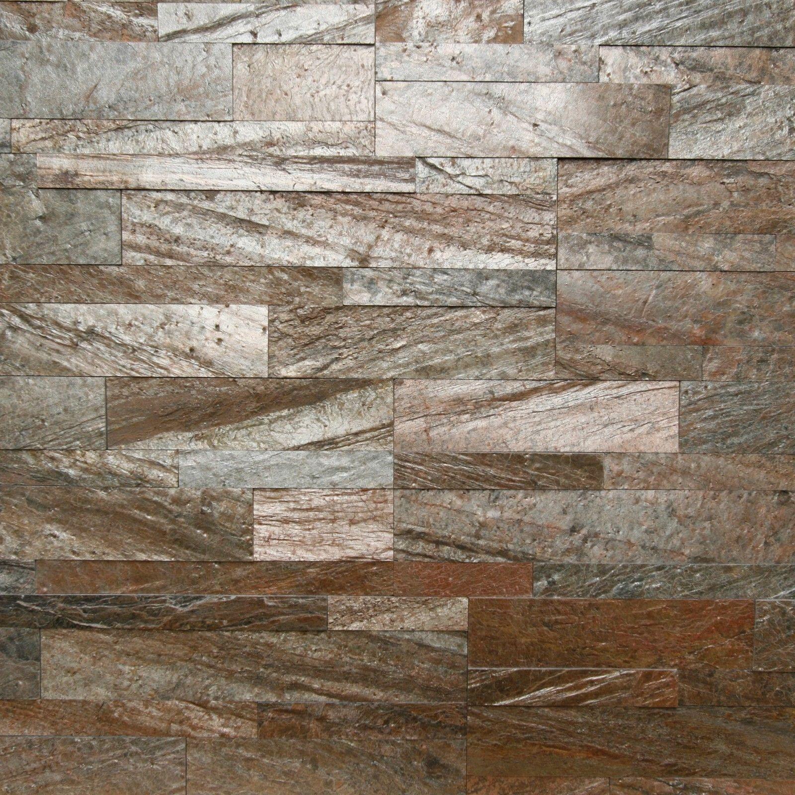 Ultralight Naturstein Verblender 3d Selbstklebend Kupfer Wandverblender Verblender Natursteine Naturstein Verblender
