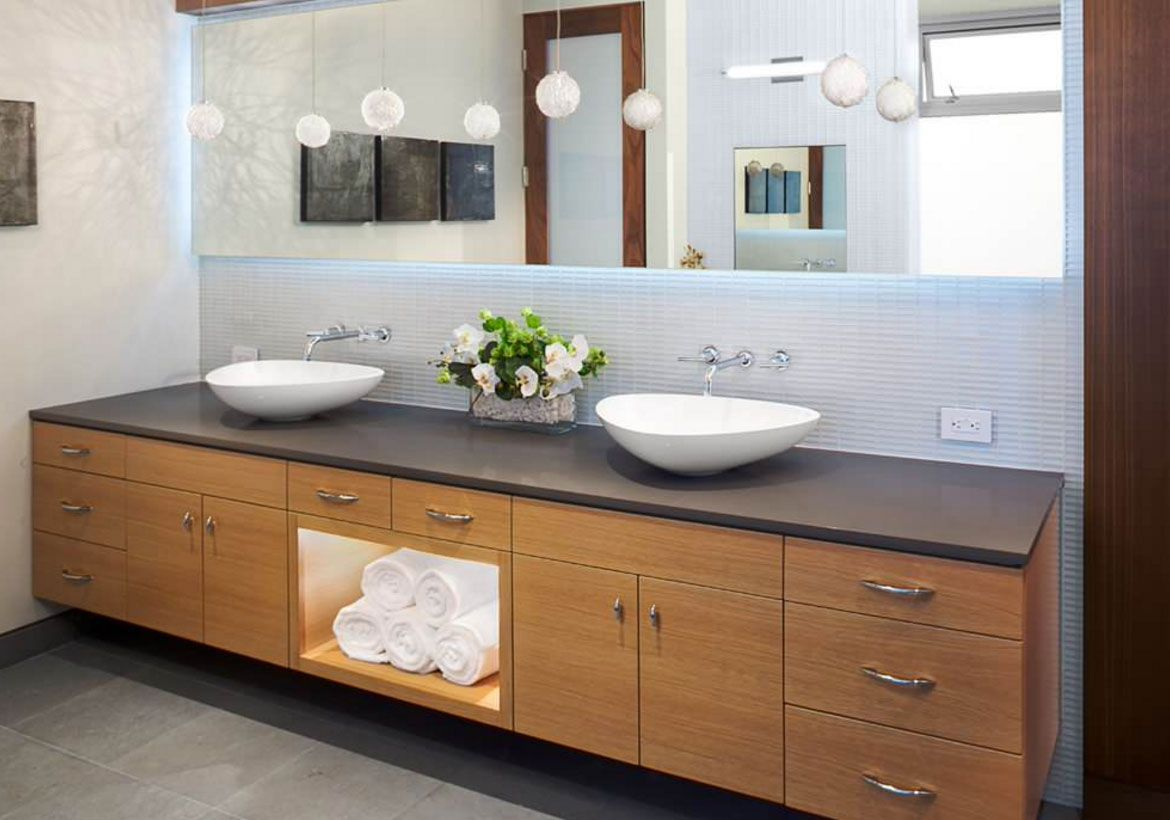 From A Floating Vanity To A Vessel Sink Vanity Your Ideas Guide Double Vanity Bathroom Bathroom Vanity Designs Bathroom Design Trends