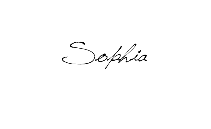 3103e910f Tattoo Name Sophia using the font style Jellyka Saint Andrews Queen