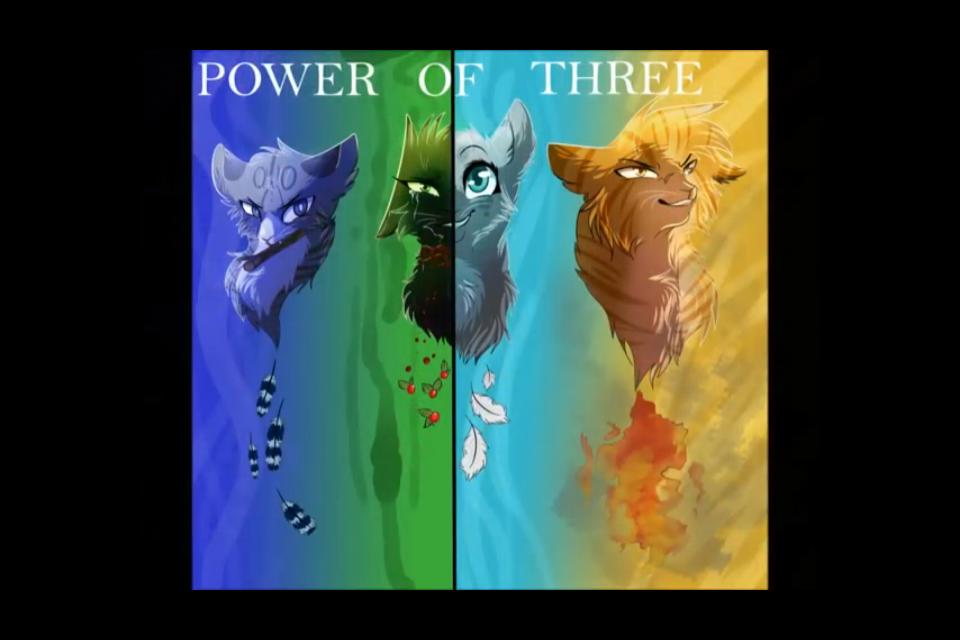 Power of three WarriorCat Warrior cats comics, Warrior